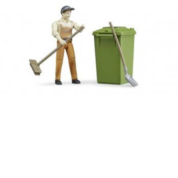 Personaggi da gioco - Figurenset Bruder allo smaltimento dei rifiuti -