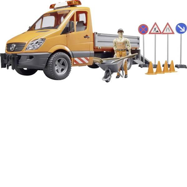 Veicoli industriali e veicoli da cantiere - MB Sprinter comunale Bruder con conducente e Accessori Bruder -