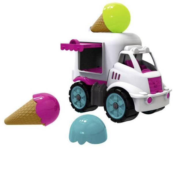 Veicoli giocattolo per bambini - BIG Power worker Mini Eiswagen -