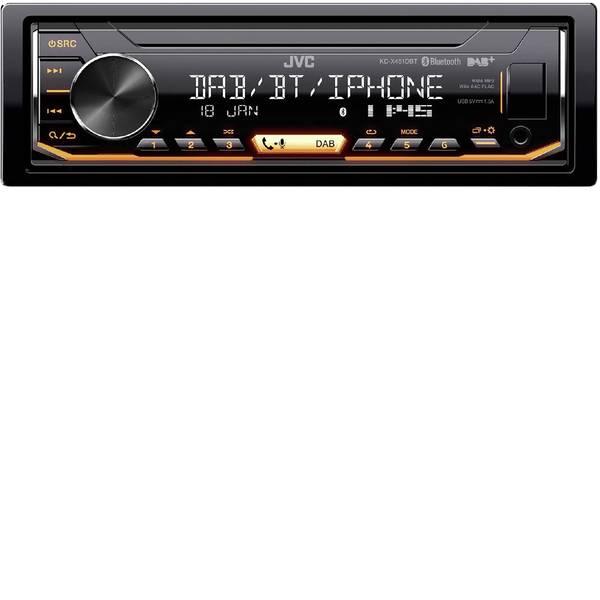 Autoradio e Monitor multimediali - JVC KD-X451DBT Autoradio Sintonizzatore DAB+, incl. Antenna DAB, Vivavoce Bluetooth®, Collegamento per controllo remoto  -