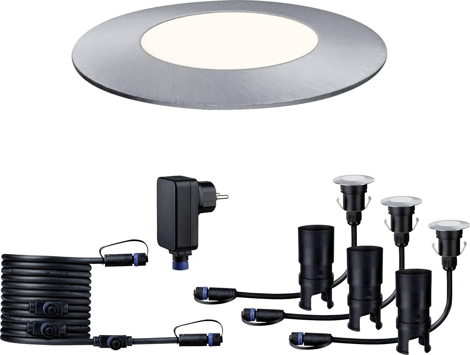 Sistema d illuminazione plug shine kit base lampade led incasso