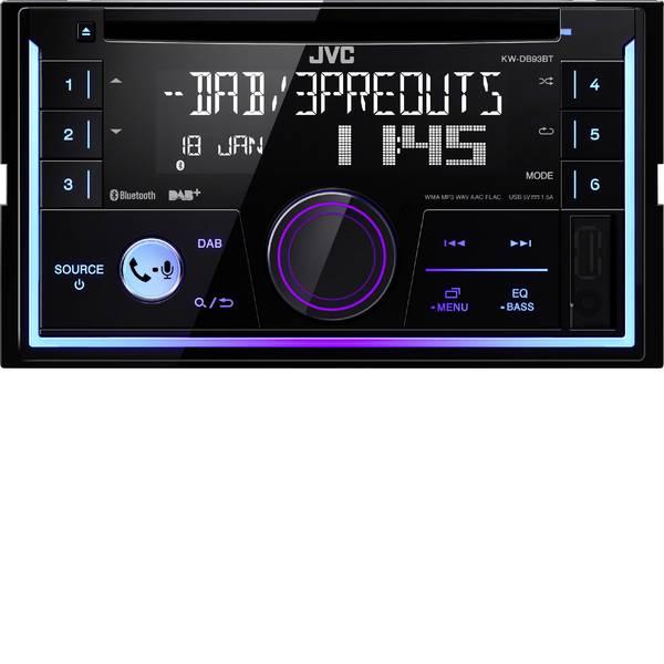 Autoradio e Monitor multimediali - JVC KWDB93BT-ANT Autoradio doppio DIN incl. Antenna DAB, Sintonizzatore DAB+, Vivavoce Bluetooth®, Collegamento per  -