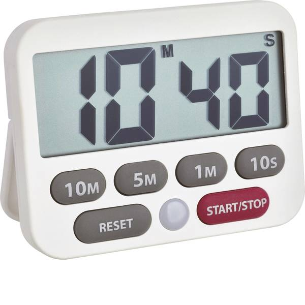 Timer - TFA 38.2038.02 Timer Bianco digitale -