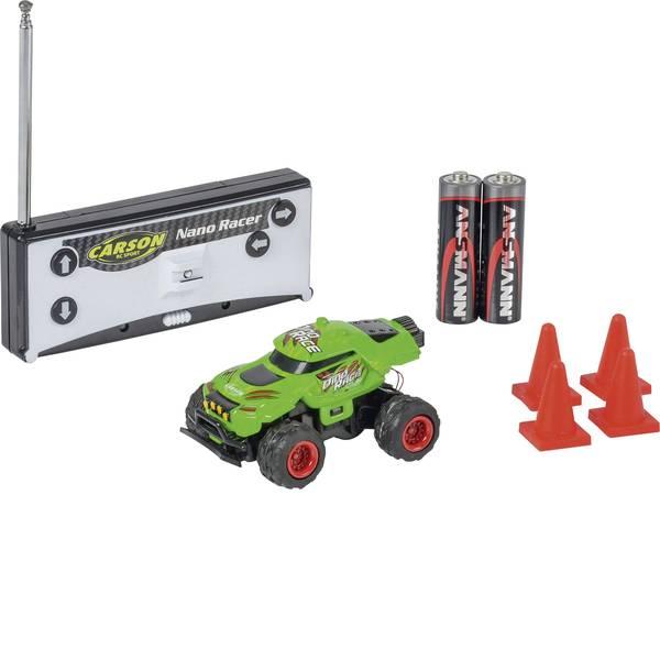 Auto telecomandate - Carson RC Sport 500404185 Nano Racer Dino-Race 1:60 Automodello Elettrica Monstertruck Trazione posteriore incl.  -