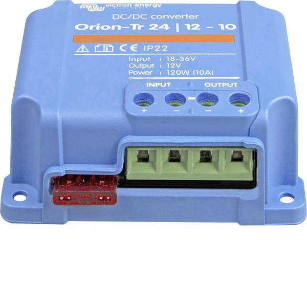 Convertitori di tensione DC/DC - Victron Energy;Orion-Tr 24/12-10;Convertitore DC/DC- 120 W -