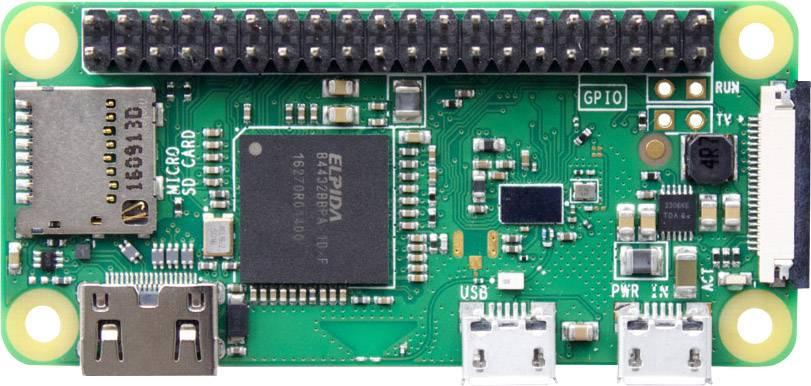 Raspberry Pi® Zero WH 512 MB