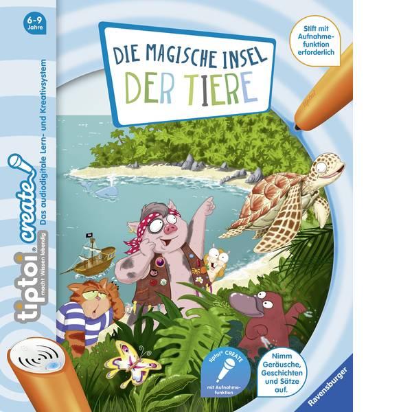 Giochi di società e per famiglie - Ravensburger tiptoi® CREATE: lisola magica degli animali -