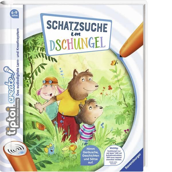 Giochi di società e per famiglie - Ravensburger tiptoi® CREATE: caccia al tesoro nella giungla -