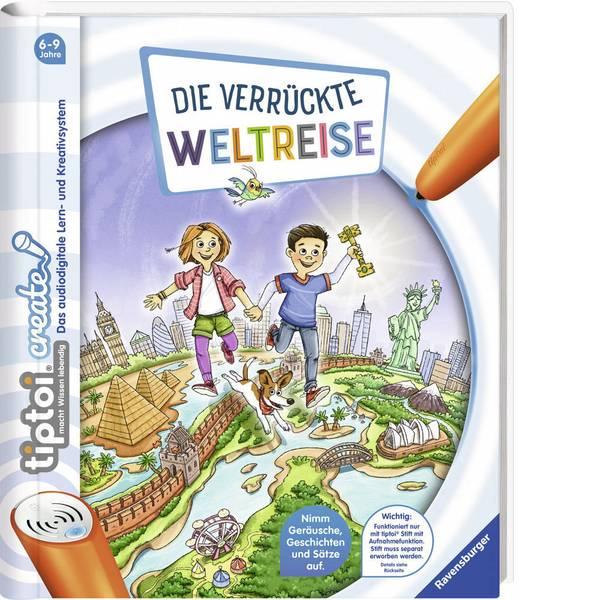 Giochi di società e per famiglie - Ravensburger tiptoi® create: Un pazzo giro del mondo -