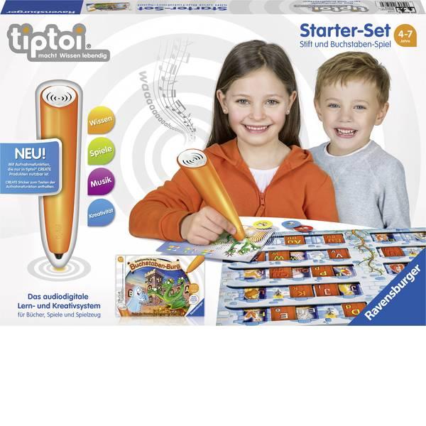 Giochi di società e per famiglie - starter kit tiptoi® Ravensburger: lettore digitale e gioco con le lettere -