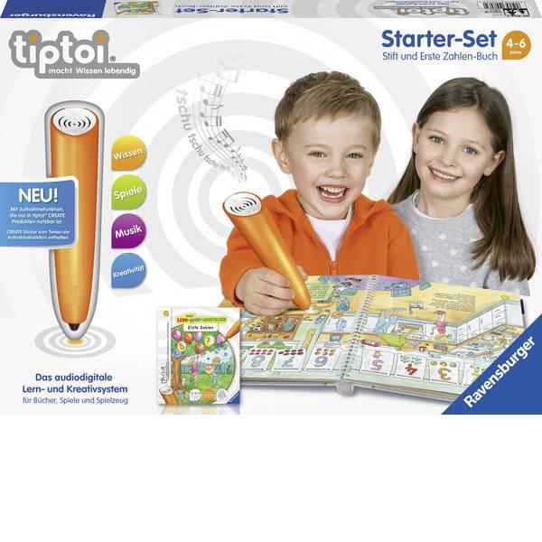 Giochi di società e per famiglie - Starter kit tiptoi® Ravensburger: lettore digitale e il libro I primi numeri -