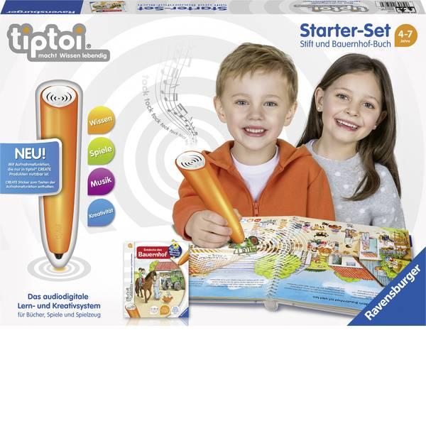 Giochi di società e per famiglie - Starter kit tiptoi® Ravensburger: lettore digitale e il libro La fattoria -