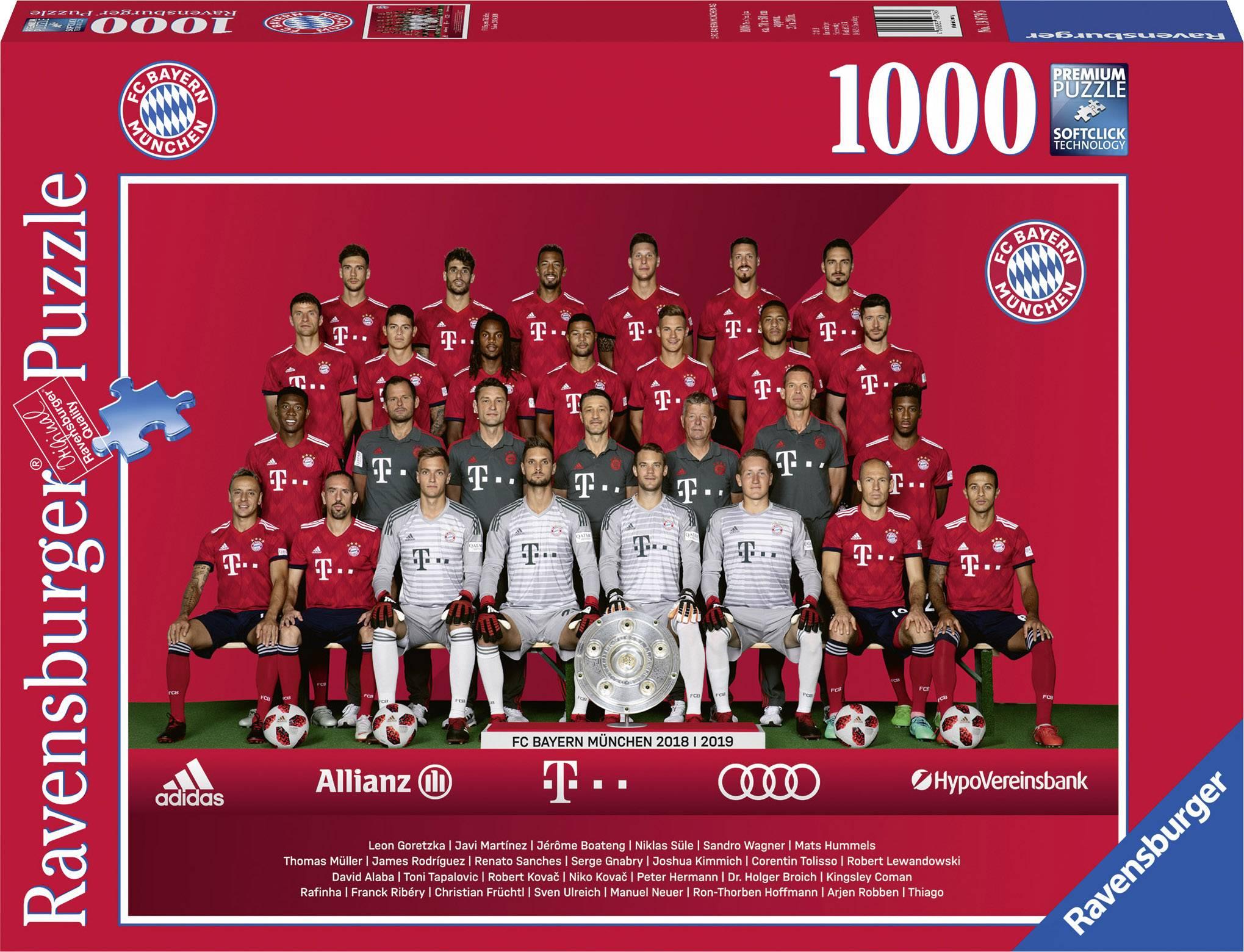 FC Bayern München Ravensburger Stagione 2018/2019