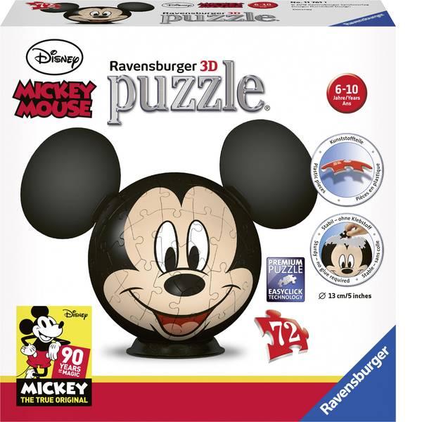 Puzzle - Puzzle 3D Topolino Disney Ravensburger -