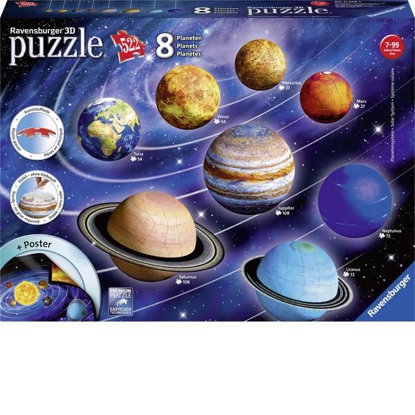 Puzzle - Ravensburger Puzzle 3D - Il sistema planetario -