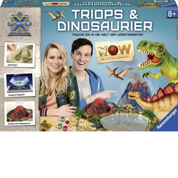 Kit esperimenti e pacchetti di apprendimento - Fossile Ravensburger ScienceX WOW Triops & Dinosaurier 18906 da 3 anni -