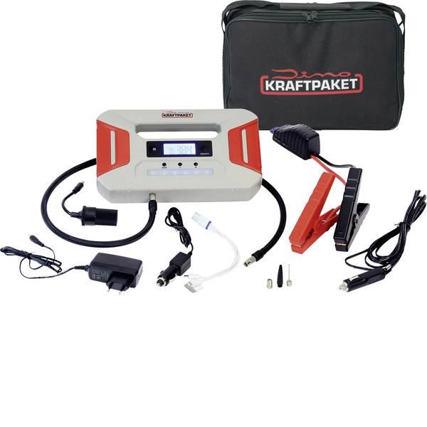 Jump Starter - Sistema di accensione rapido Dino KRAFTPAKET KRAFTPAKET Starthilfegerät 12V 600A mit Kompressor Power Bank LED-Lampe  -