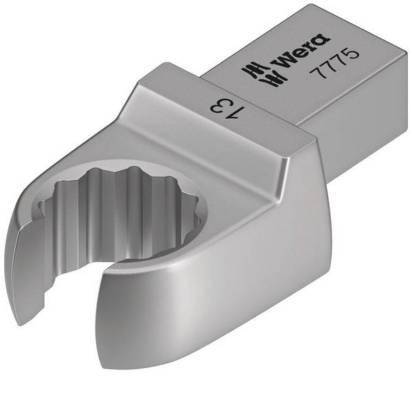 Utensili ad innesto - Inserto chiave poligonale 7775, aperto, apertura chiave 18 mm Wera 05078656001 -
