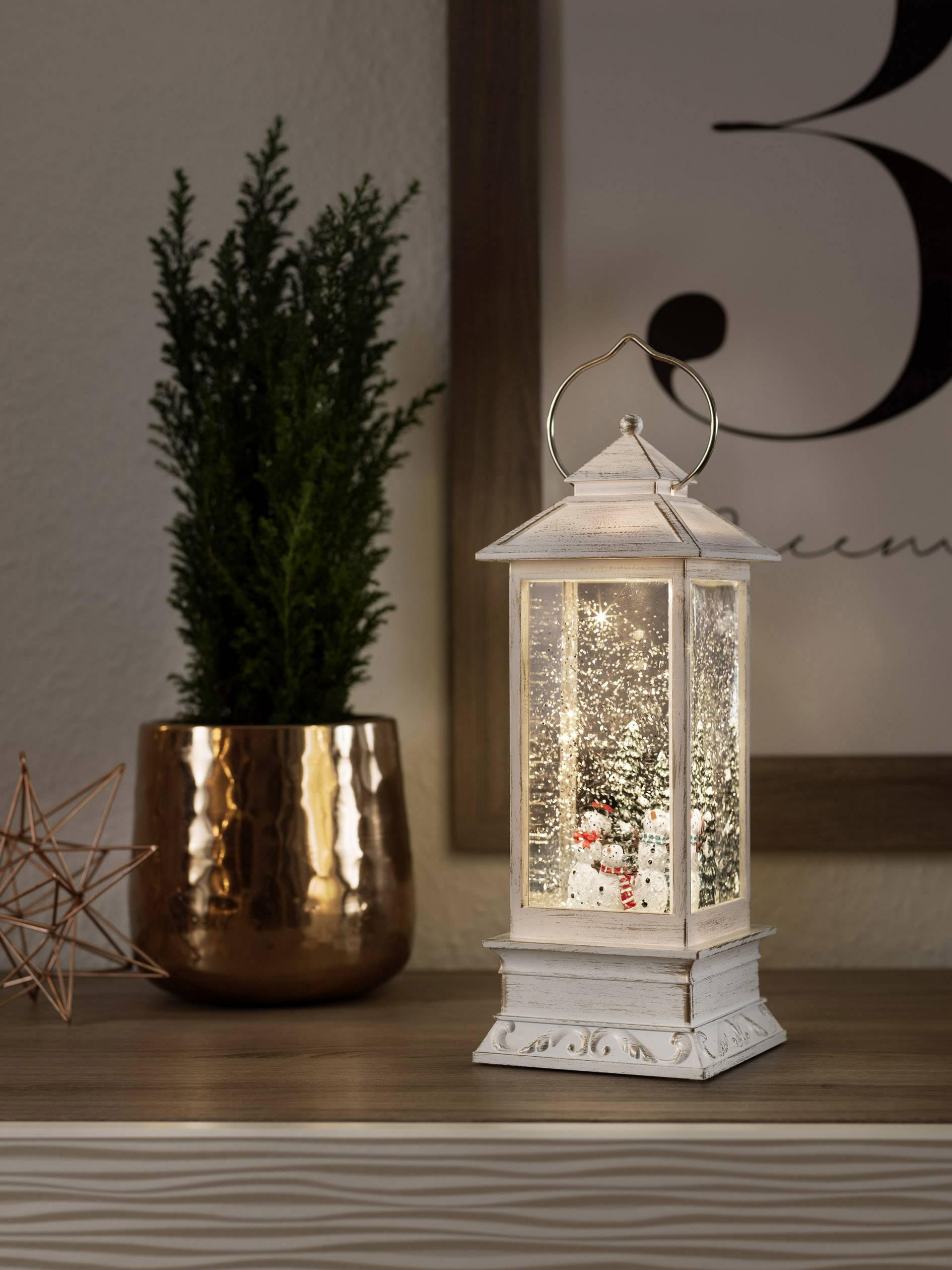 Lanterna LED Pupazzi di neve B