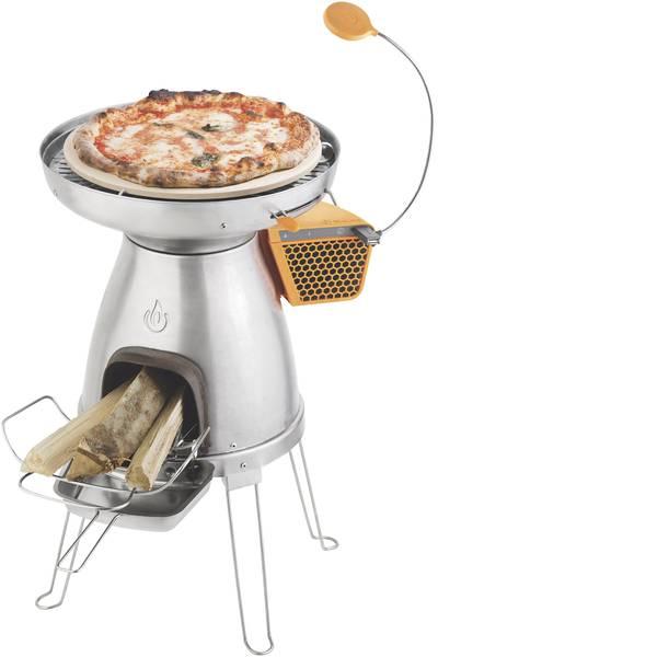 Fornelli da campeggio - Fornello da campeggio BioLite PizzaDome 006-6001123 Acciaio inox, Ceramica, Silicone -