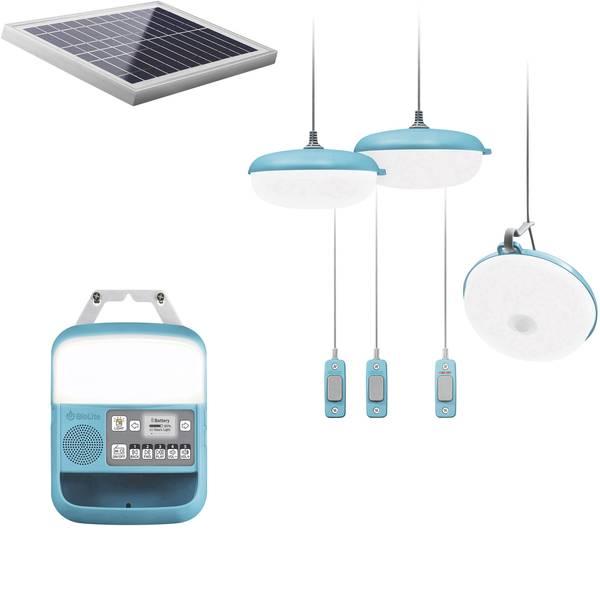 Lampade per campeggio, outdoor e per immersioni - Sistema dilluminazione BioLite SolarHome 620 300 lm a energia solare Turchese 006-6001139 -