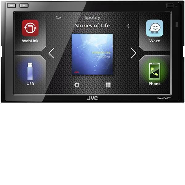 Autoradio e Monitor multimediali - JVC KWM540BT Autoradio doppio DIN Vivavoce Bluetooth®, Collegamento per controllo remoto da volante -