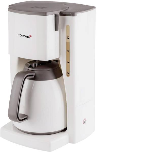 Macchine dal caffè con filtro - Korona 10410 Macchina per il caffè crema, Marrone Capacità tazze=8 Isolato -