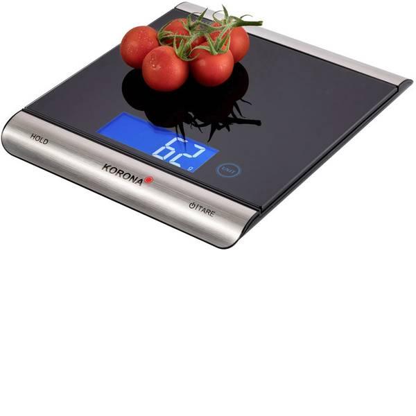 Bilance da cucina - Korona Finja Bilancia da cucina Portata max.=15 kg Nero, Argento -