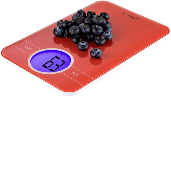 Bilance da cucina - Korona Karla Bilancia da cucina digitale Portata max.=5 kg Rosso -