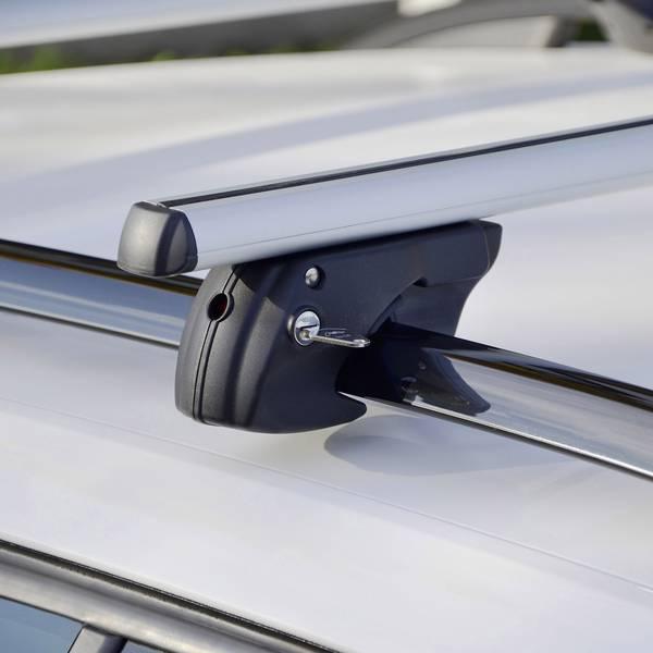 Portapacchi da auto - Barra portatutto Fischer Fahrrad CrossLine L 1,20m 126002 (L x L x A) 121 x 15 x 10 cm -