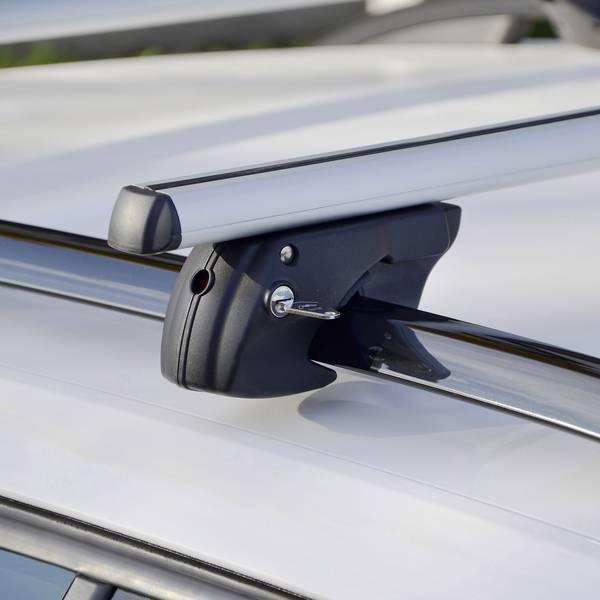 Portapacchi da auto - Barra portatutto Fischer Fahrrad CrossLine XL 1,31m 126003 (L x L x A) 134 x 15 x 10 cm -
