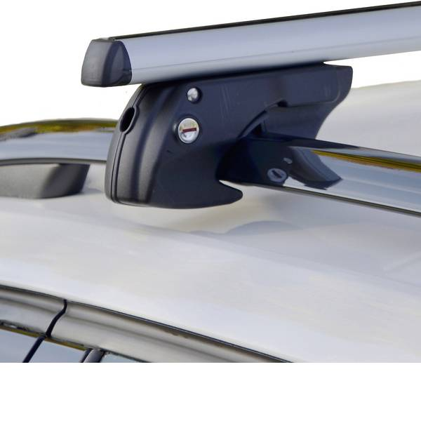 Portapacchi da auto - Barra portatutto Fischer Fahrrad TopLine L 1,20m 126004 (L x L x A) 119 x 14.5 x 7.5 cm -