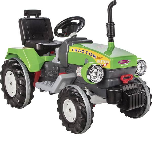 Veicoli elettrici per bambini - Trattore elettrico Jamara 12 V Ride-on Power Drag Verde -