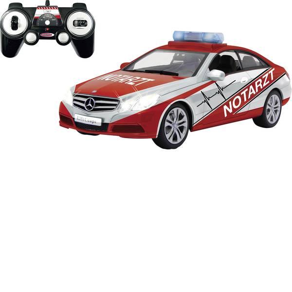 Auto telecomandate - Jamara 405130 Mercedes E350 Coupe Notarzt 1:16 Automodello per principianti Elettrica Veicolo di emergenza -