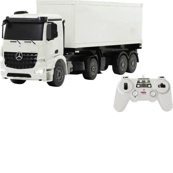 Auto telecomandate - Jamara 405148 Mercedes Arocs Container-LKW 1:20 Modellino per principianti Elettrica Camion -