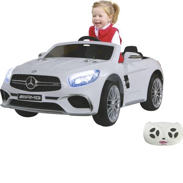 Veicoli elettrici per bambini - Auto elettrica Jamara 12 V Ride-on Mercedes SL65 Bianco -