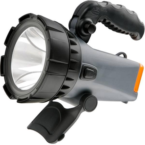 Torce con batterie ricaricabili - Ampercell 02701 Lampada portatile a batteria AM 2701 LED Grigio-Nero LED 12 h -