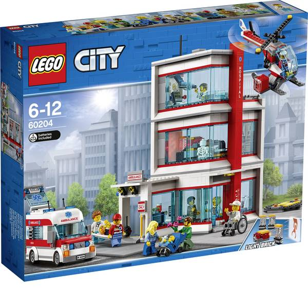 LEGO® City - LEGO® CITY 60204 In ospedale -