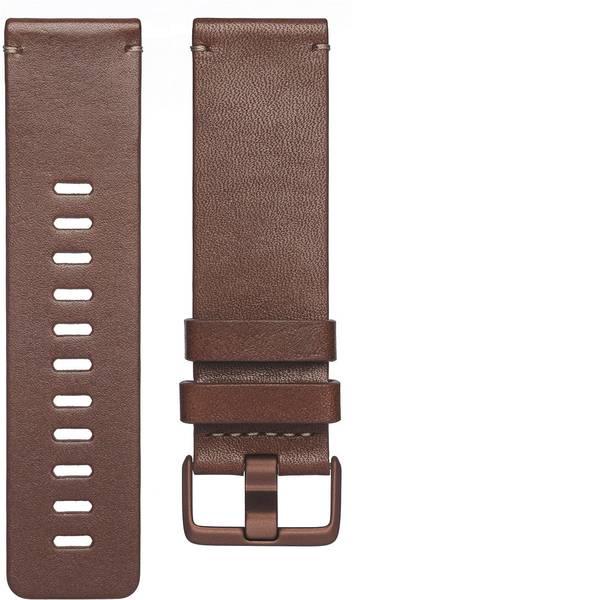 Accessori per fitness tracker - Cinturino di ricambio FitBit Versa Taglia dim.=L Cognac -