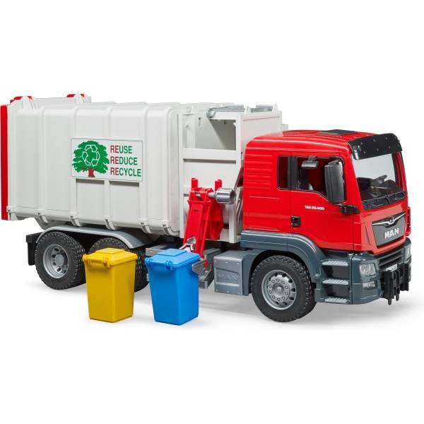 Veicoli industriali e veicoli da cantiere - Pagina MAN TGS Bruder Camion immondizia con caricatore -