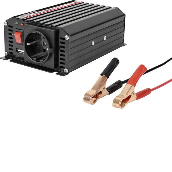 Inverter - Eufab Inverter Spannungswandler 300W 12 230V 12 V/DC - 230 V/AC -