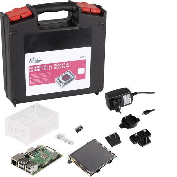 Schede di sviluppo e Single Board Computer - Raspberry Pi® 3 B+ Touch PC Set 1 GB 4 x 1.4 GHz incl. display touchscreen, incl. cavo di alimentazione, incl. Noobs OS,  -