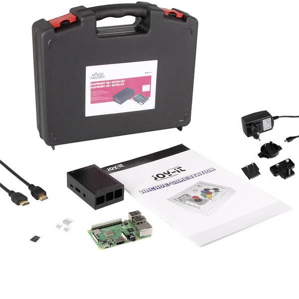 Schede di sviluppo e Single Board Computer - Raspberry Pi® 3 Model B+ kit da gioco retrò 1 GB incl. Alloggiamento, incl. Software, incl. Alimentatore -