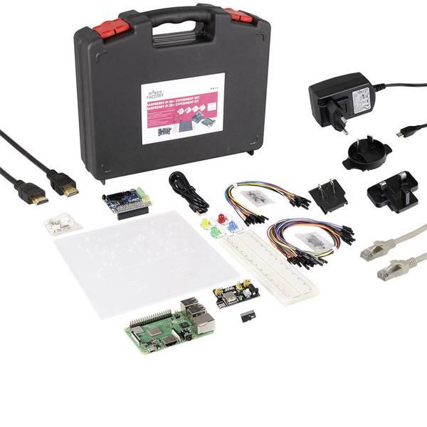 Schede di sviluppo e Single Board Computer - Raspberry Pi® 3 B+ Experiment Set 1 GB 4 x 1.4 GHz incl. sensori, incl. cavo di alimentazione, incl. Noobs OS, incl.  -