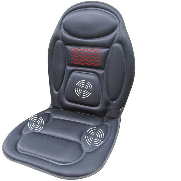 Coprisedili riscaldati e rinfrescanti per auto - Rivestimento rinfrescante per sedile HP Autozubehör 12 V 1 livello di raffreddamento Nero -