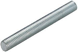 Barra filettata m10 1000 mm acciaio inox a2 toolcraft 1066485 1 pz