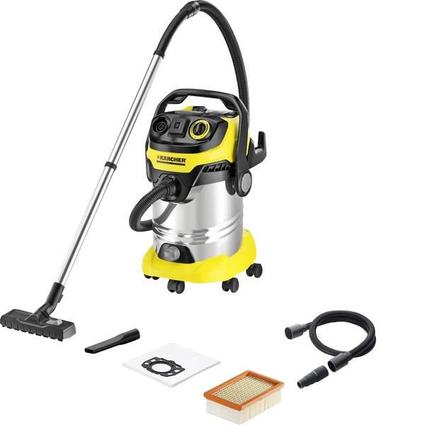 Bidoni aspiratutto - Kärcher WD 6 P Premium 1.348-271.0 Aspiratutto 1300 W 30 l Pulizia semi-automatica del filtro -