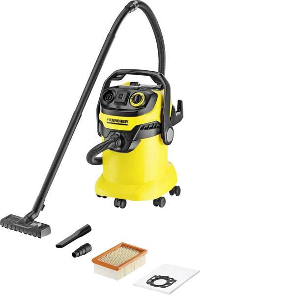 Bidoni aspiratutto - Kärcher WD 5 P 1.348-194.0 Aspirapolvere a secco 1100 W 25 l Pulizia semi-automatica del filtro -