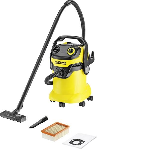 Bidoni aspiratutto - Kärcher WD 5 1.348-191.0 Aspiratutto 1100 W 25 l Pulizia semi-automatica del filtro -