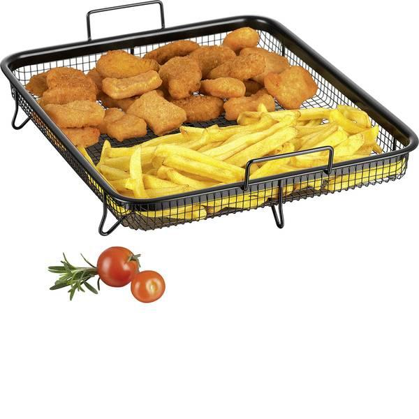 Elettrodomestici e altri utensili da cucina - Cestino per griglia GourmetMaxx Heißluft-Grillkorb 01644 Nero -
